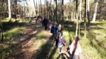 20170328 06 Projektwoche - Wandern