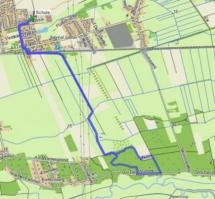 20170328 Projektwoche - Wandern - map
